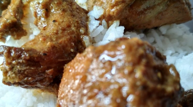 Tasty PistaWala Chicken Recipes With Jeera Rice