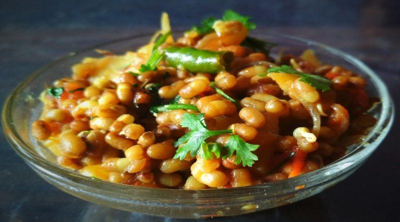Moth Beans Recipe ,usal,matki